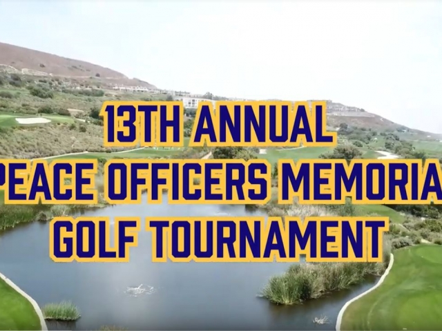 13th Annual Peace Officers Memorial Golf Tournament