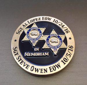 Memorial Challenge Coin