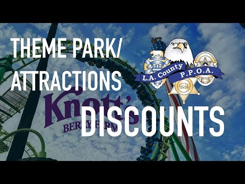 Theme Park Discounts for PPOA!