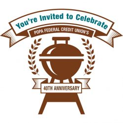 Celebrate POPA Federal Credit Union's 40th Anniversary