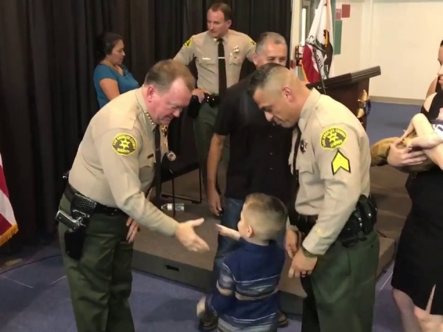 SGT Badge Pinning Ceremony 9/14/17