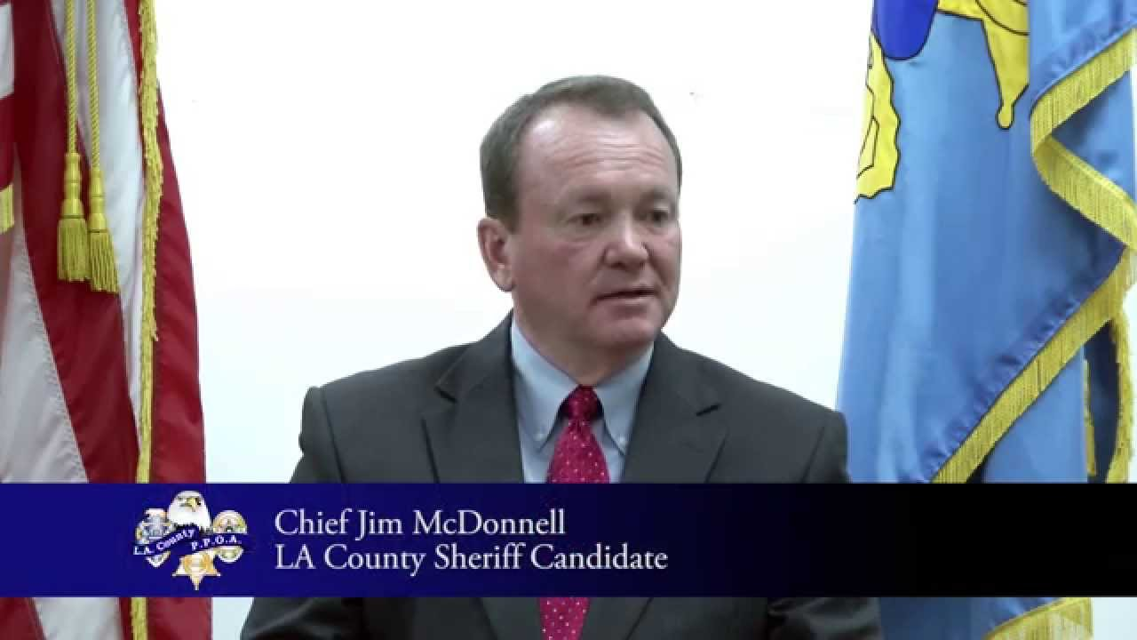 PPOA OnPOINT Interviews LA Sheriff Candidate Chief Jim McDonnell (1 of 3)