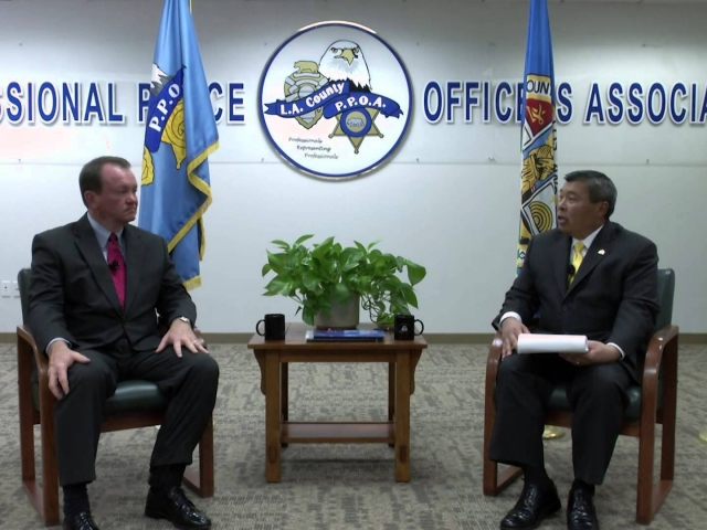 PPOA OnPOINT Interviews LA Sheriff Candidate Chief Jim McDonnell (2 of 3)