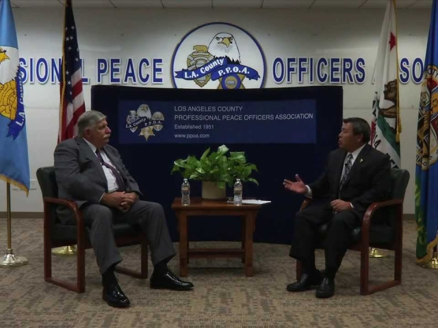 PPOA OnPOINT Interviews Sheriff Scott of the Los Angeles County Sheriff's Department