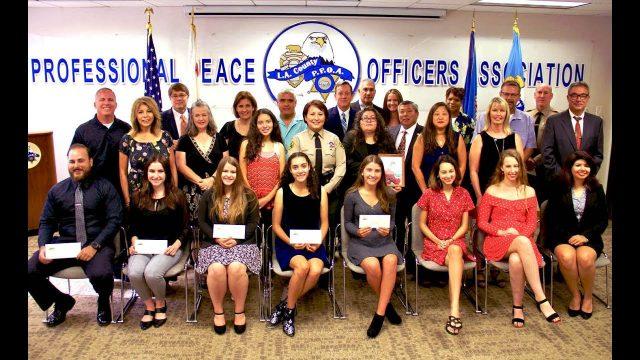 2018 PPOA Scholarship Award Recipients