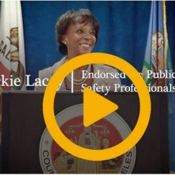 PPOA Teams with ALADS, Deputy District Attorneys and Firefighters Urging Voters to Re-Elect LA County District Attorney Jackie Lacey